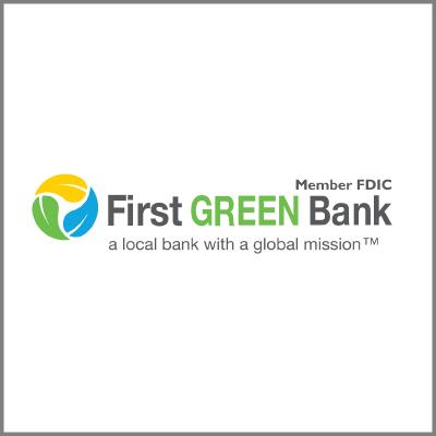 First Green Bank Logo